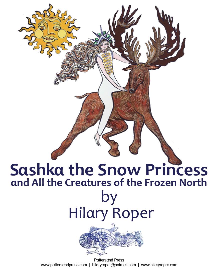 Sashka The Snow Princess by Hilary Roper